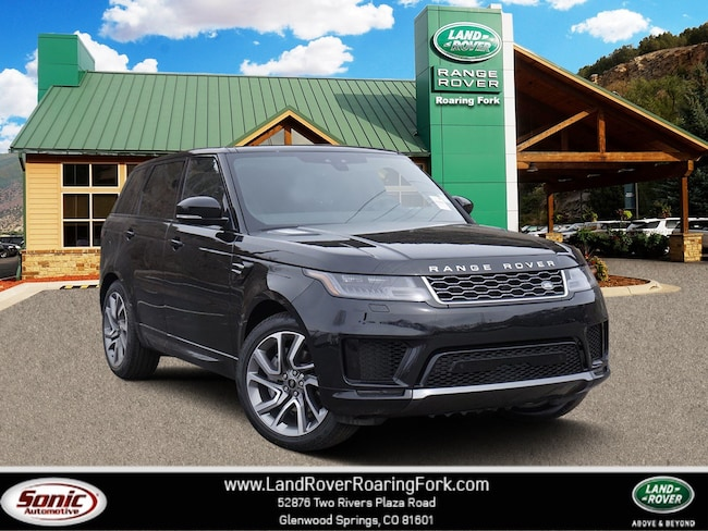 New 2019 Land Rover Range Rover Sport HSE SUV in Glenwood Springs