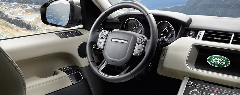 2017 Range Rover Sport Lease Special - Interior
