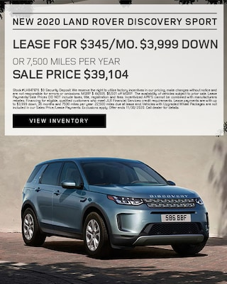 2020 Land Rover Discovery Sport Specials