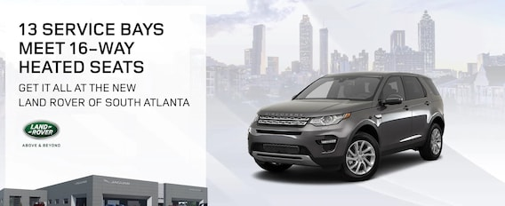 About Land Rover South Atlanta | Near Atlanta & Union City, GA