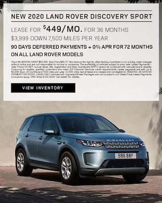 2020 Discovery Sport Lease Specials