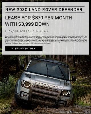 2020 Land Rover Defender Specials