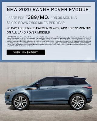 2020 Range Rover Evoque Lease Specials