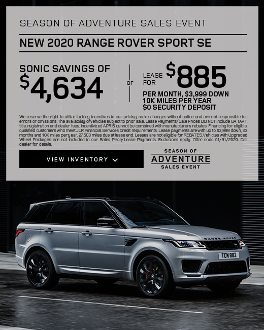 2020 Range Rover Sport Purchase & Lease Special