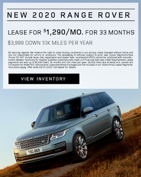 New 2020 Land Rover