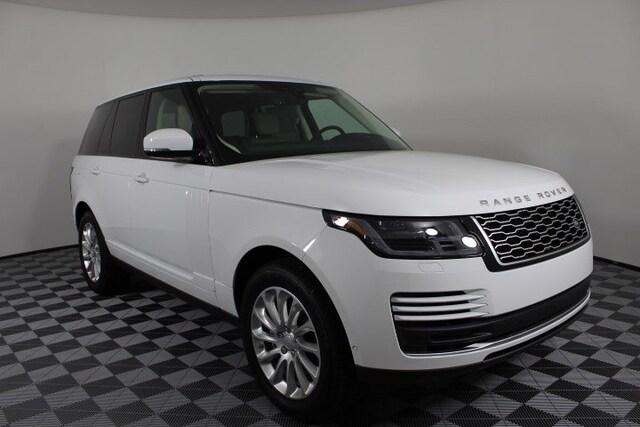 White Land Rover >> 2019 Land Rover Range Rover Hse Suv