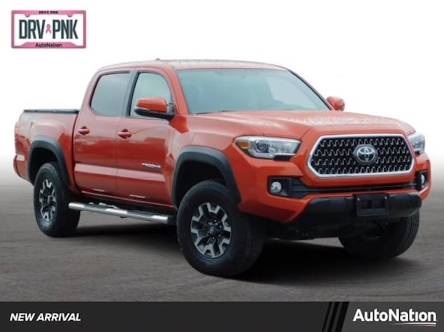 2017 Toyota Tacoma TRD Off-Road in orange