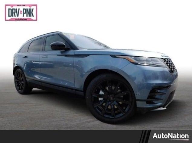 2019 Range Rover Velar in Byron Blue