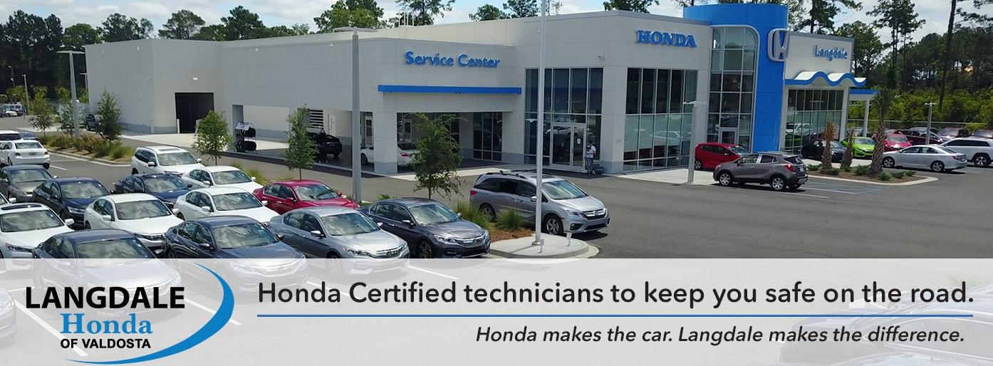 Langdale honda of valdosta new honda dealership in for Honda dealers in georgia