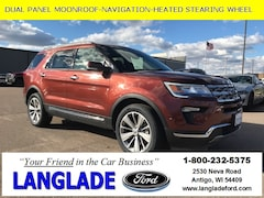 Used Vehicles for sale 2018 Ford Explorer Limited SUV in Antigo, WI