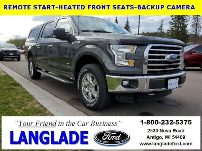 2015 Ford F 150 For Sale >> Used 2015 Ford F 150 For Sale Antigo Wi 1ftew1ep2fkd80813