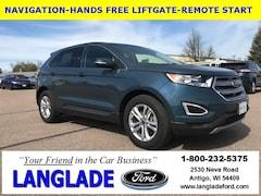 Used Vehicles for sale 2016 Ford Edge SEL SUV in Antigo, WI