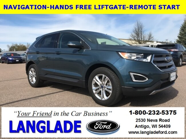 Certified Used 2016 Ford Edge SEL SUV for sale in Antigo, WI