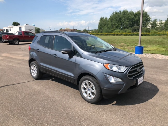 New  2018 Ford EcoSport SE Crossover for sale in Antigo WI