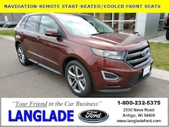 Certified Pre owned 2015 Ford Edge Sport SUV for sale in Antigo, WI