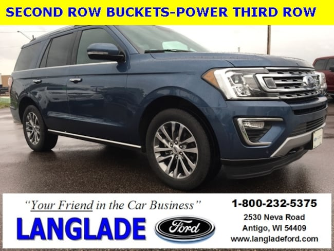 Certified Used 2018 Ford Expedition Limited SUV for sale in Antigo, WI