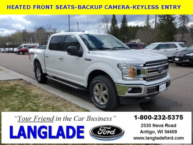 Certified Used 2018 Ford F-150 XLT Truck for sale in Antigo, WI