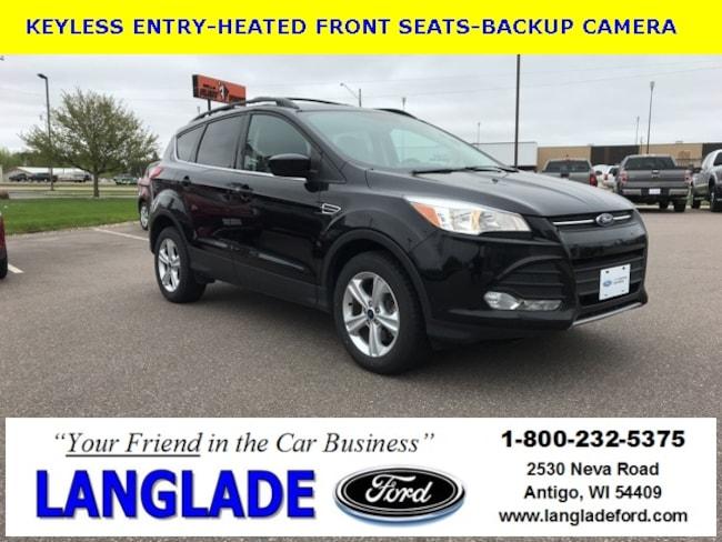 Certified Used 2016 Ford Escape SE SUV for sale in Antigo, WI