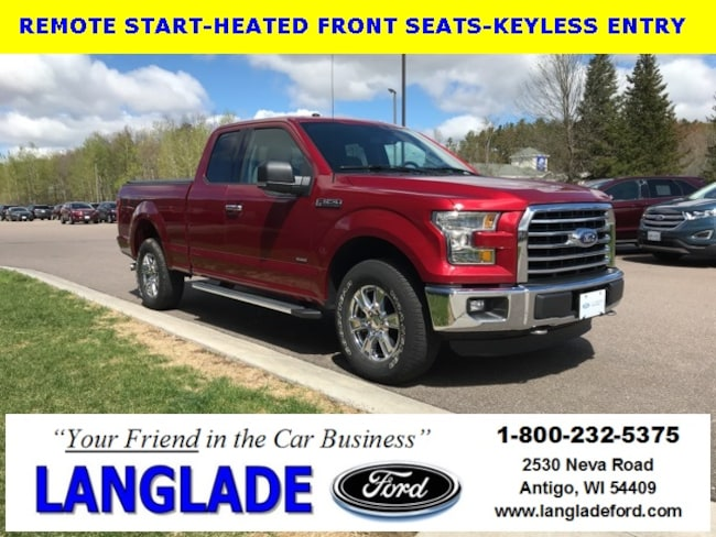 Certified Used 2016 Ford F-150 XLT Truck for sale in Antigo, WI