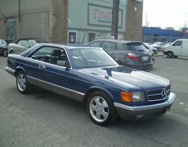 1985 Mercedes-Benz 500SEC LUXURY! RARE CLASSIC! SERVICE RECORDS! Coupe