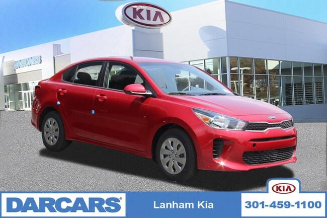 New 2019 Kia Rio S Sedan in Lanham, Maryland