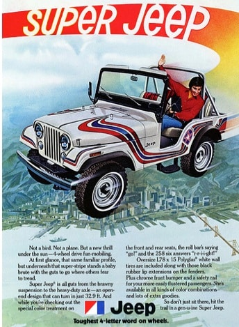 4ec17fd7ad Funny and Vintage Jeep Commercials