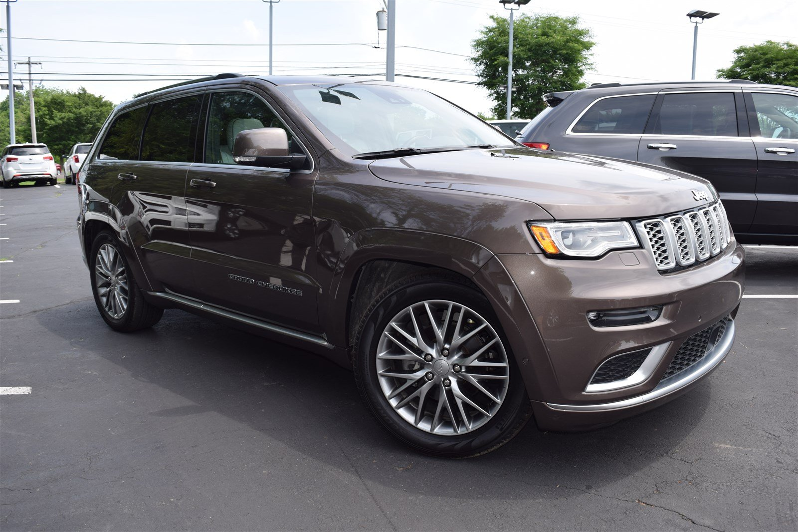 Used 2017 Jeep Grand Cherokee Summit 4x4 For Sale In