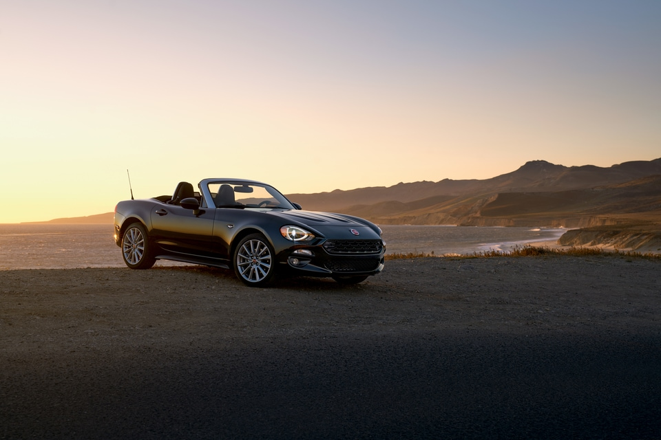 ... Fun To Drive Vehicle That Lets You Feel The Sun On Your Face And The  Wind In Your Hair As You Take Command Of The Open Road, The New FIAT 124  Spider ...