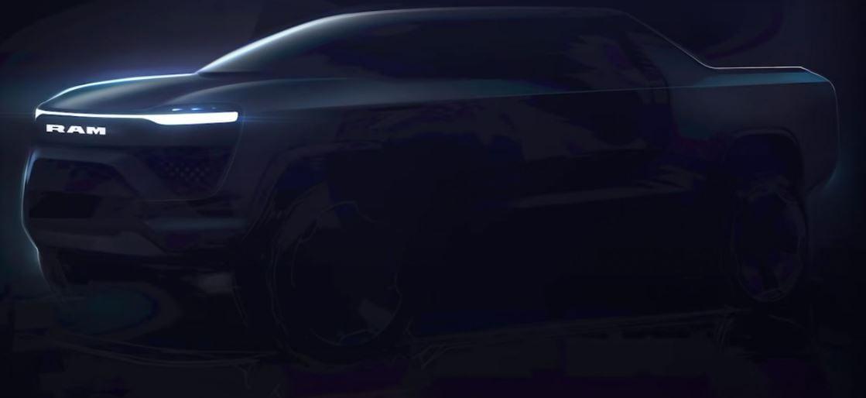 2024 RAM Electric Pickup Truck