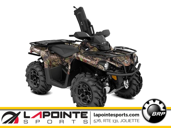 2019 CAN-AM Outlander Mossy Oak Hunting Edition 570