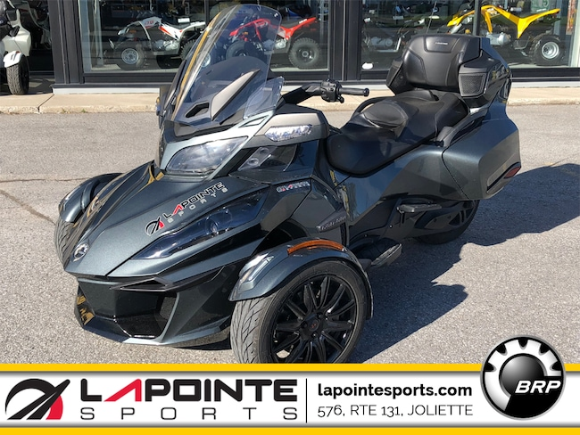 2018 CAN-AM Spyder RT SE6 Limited Noir