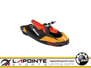 2019 Sea-Doo/BRP Spark TRIXX 3P 900 HO ACE Orange Crush et piment fort