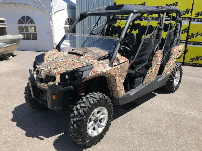 2017 CAN-AM COMMANDER MAX DPS 800R