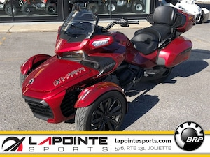 2018 CAN-AM Spyder F3 SE6 Limited Noir