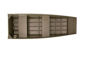 2018 ALUMACRAFT Chaloupe Jon Boat 1436 Lite -
