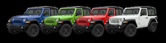 Jeep Wrangler Colors >> 2018 Jeep Wrangler Jl Color Options Trim Levels