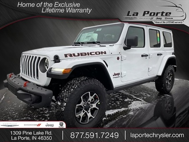 New 2018 Jeep Wrangler UNLIMITED RUBICON 4X4 Sport Utility in La Porte, IN