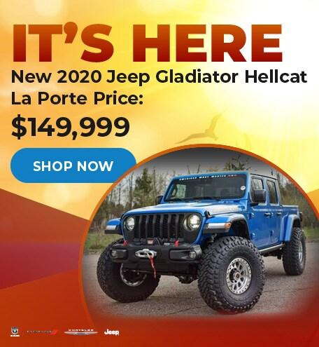 New 2020 Jeep Gladiator Hellcat