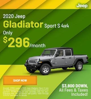 2020 Gladiator Sport Lease