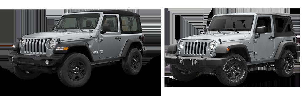 jeep wrangler jl vs jeep wrangler jk what 39 s new. Black Bedroom Furniture Sets. Home Design Ideas