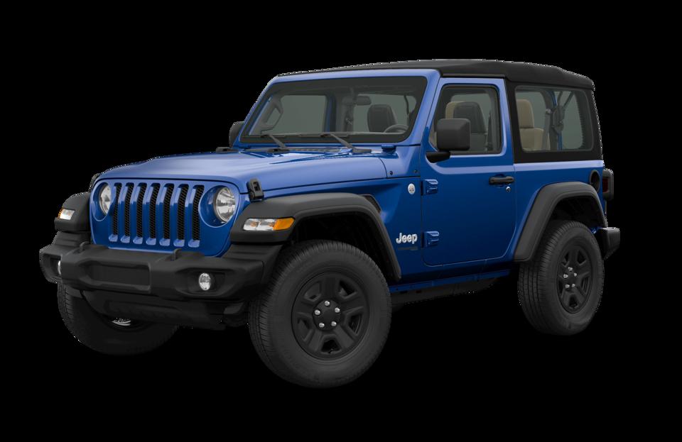 2018 Jeep Wrangler Jl Color Options Trim Levels
