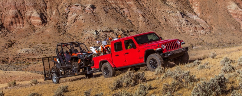 2020 Jeep Gladiator Towing