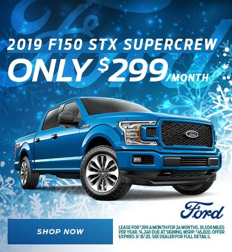 2019 F-150 Lease