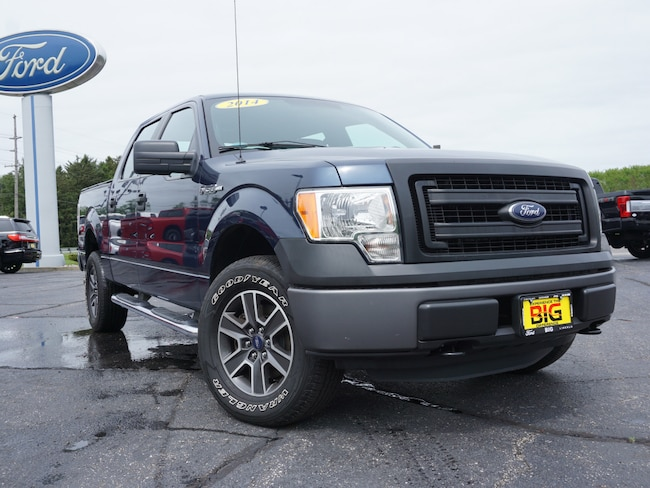 2014 Ford F-150 XL 4x4 SuperCrew Cab Styleside 5.5 ft. box 145 in. Truck