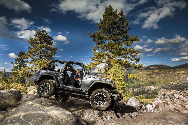 2017 Jeep Wrangler Rubicon Hard Rock on Rock