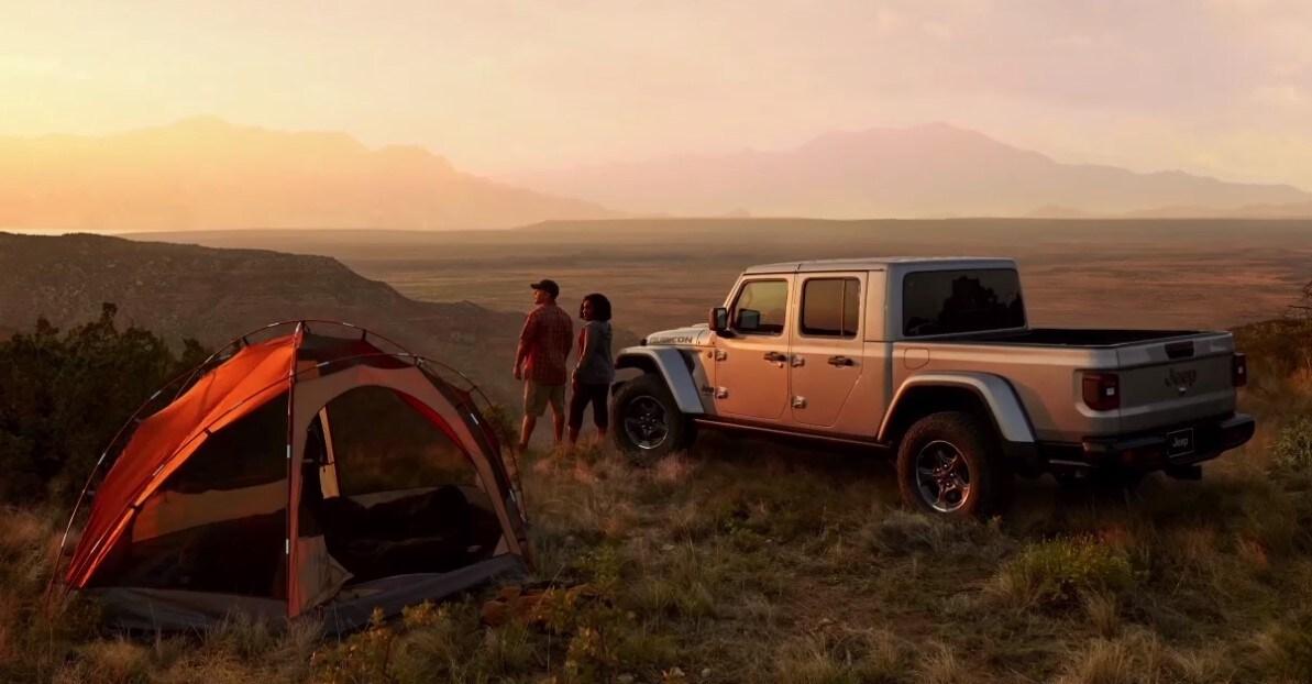 2020 Jeep Gladiator Camping Exterior