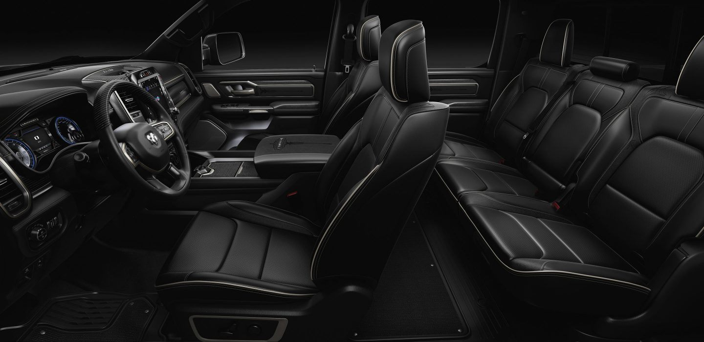 Larchmont Chrysler Jeep Dodge Ram | 2019 Ram 1500 Interior Awarded ...