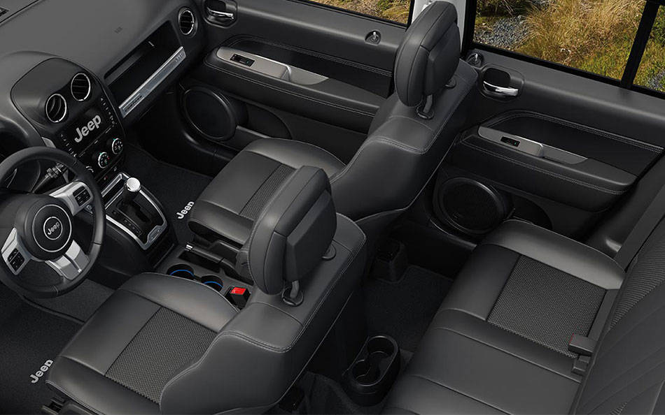 Jeep Compass Interior Black