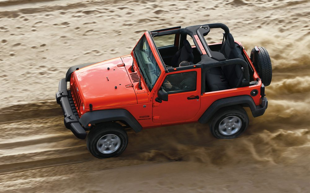 2017 Jeep Wrangler Exterior Red
