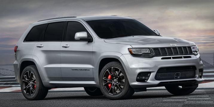 2017 Jeep Grand Cherokee SRT Side Exterior